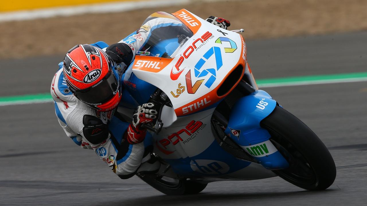 Edgar Pons ficha por el AGR Team para correr el FIM CEV Moto2 en 2018