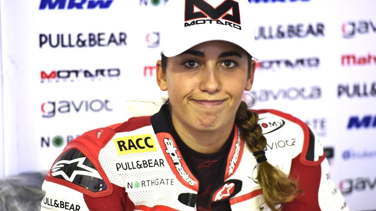 María Herrera correrá el Mundial de Supersport 300 en 2018 con Yamaha