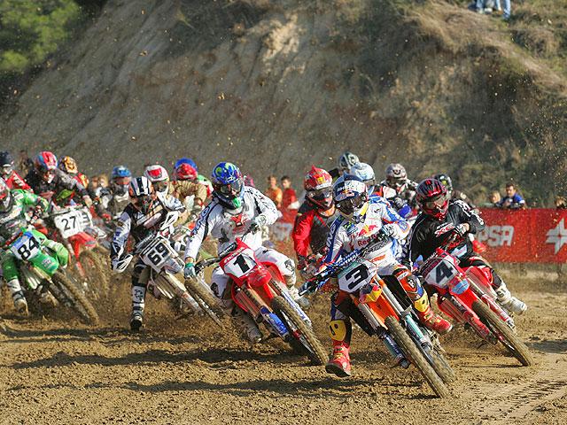 El Campeonato Nacional de Motocross Élite, al completo