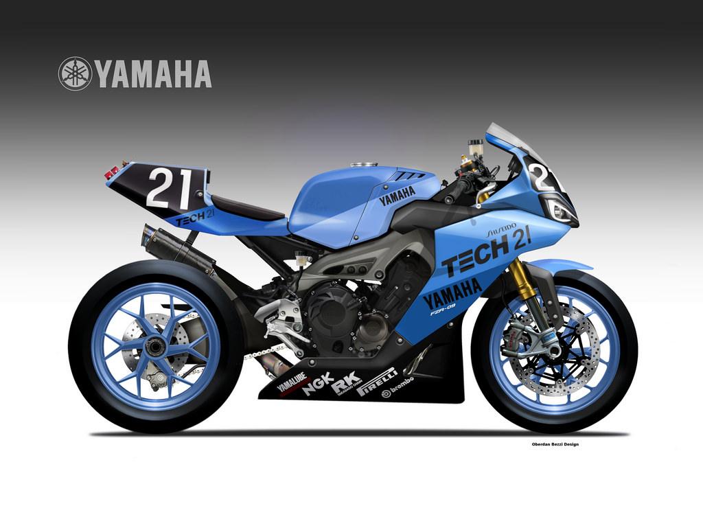 Yamaha FZR-09, porque soñar es gratis