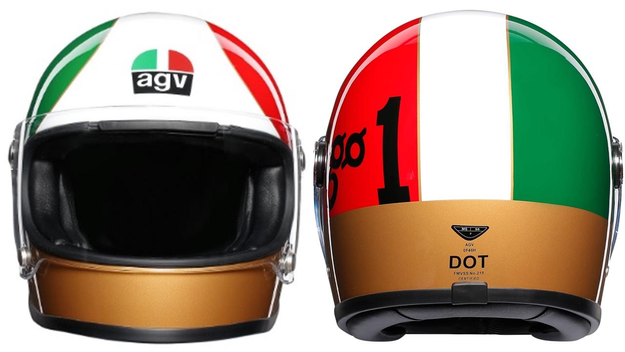 AGV saca la colección Legends en honor a Giacomo Agostini y Renzo Pasolini