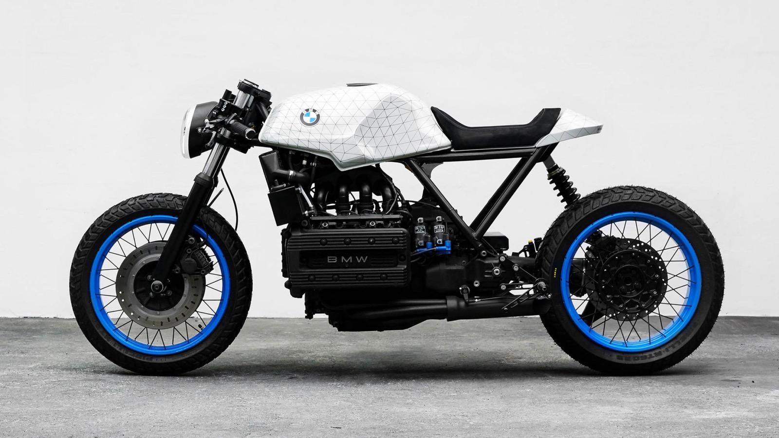 BMW K100 Impuls K101, producto de la mezcla de artistas y preparadores