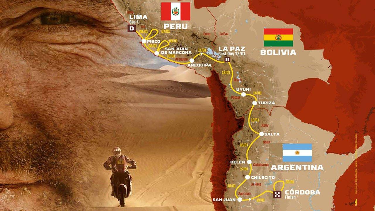 Dakar 2018: Recorrido y lista de inscritos completa