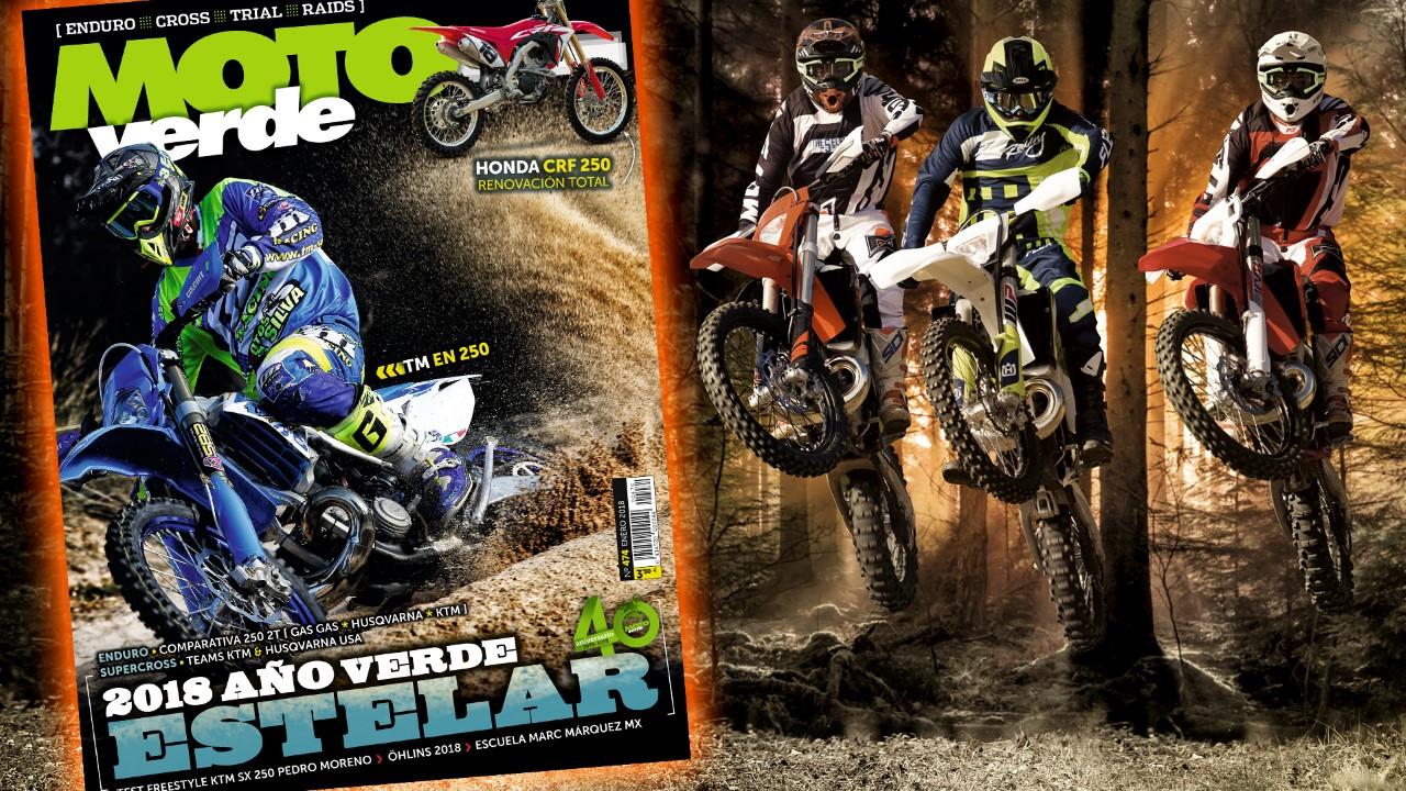 MOTO VERDE 474, contenidos y sumario de la revista