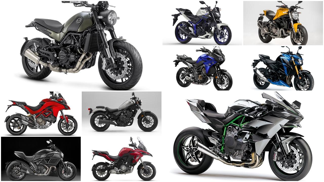 Las 10 motos más buscadas de 2017
