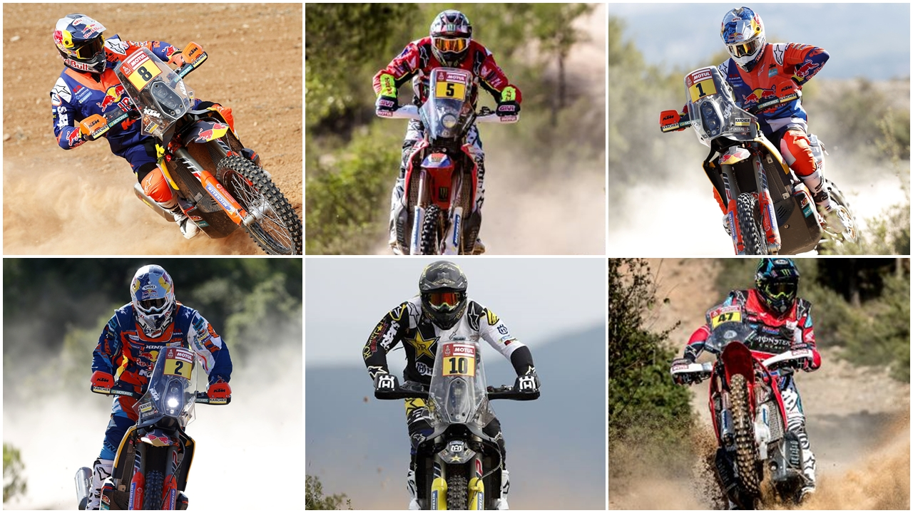 Dakar 2018, seis favoritos y decenas de candidatos