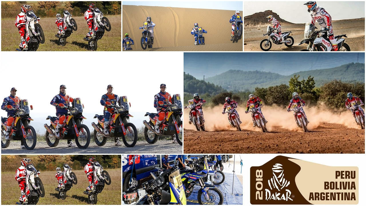 Dakar 2018: KTM contra Honda… y contra todos los demás