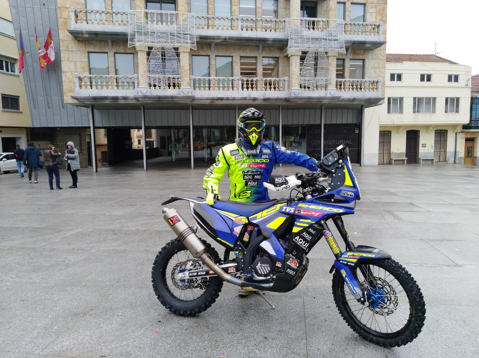 Lorenzo Santolino abandona el Mundial de Enduro y correrá el Dakar en 2019