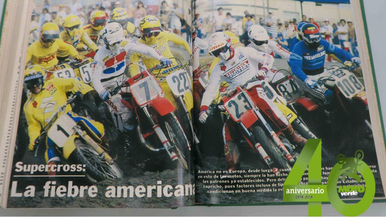 Supercross, la fiebre americana