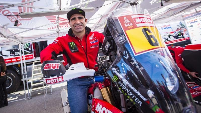 Paulo Gonçalves, baja de última hora para el Dakar 2018