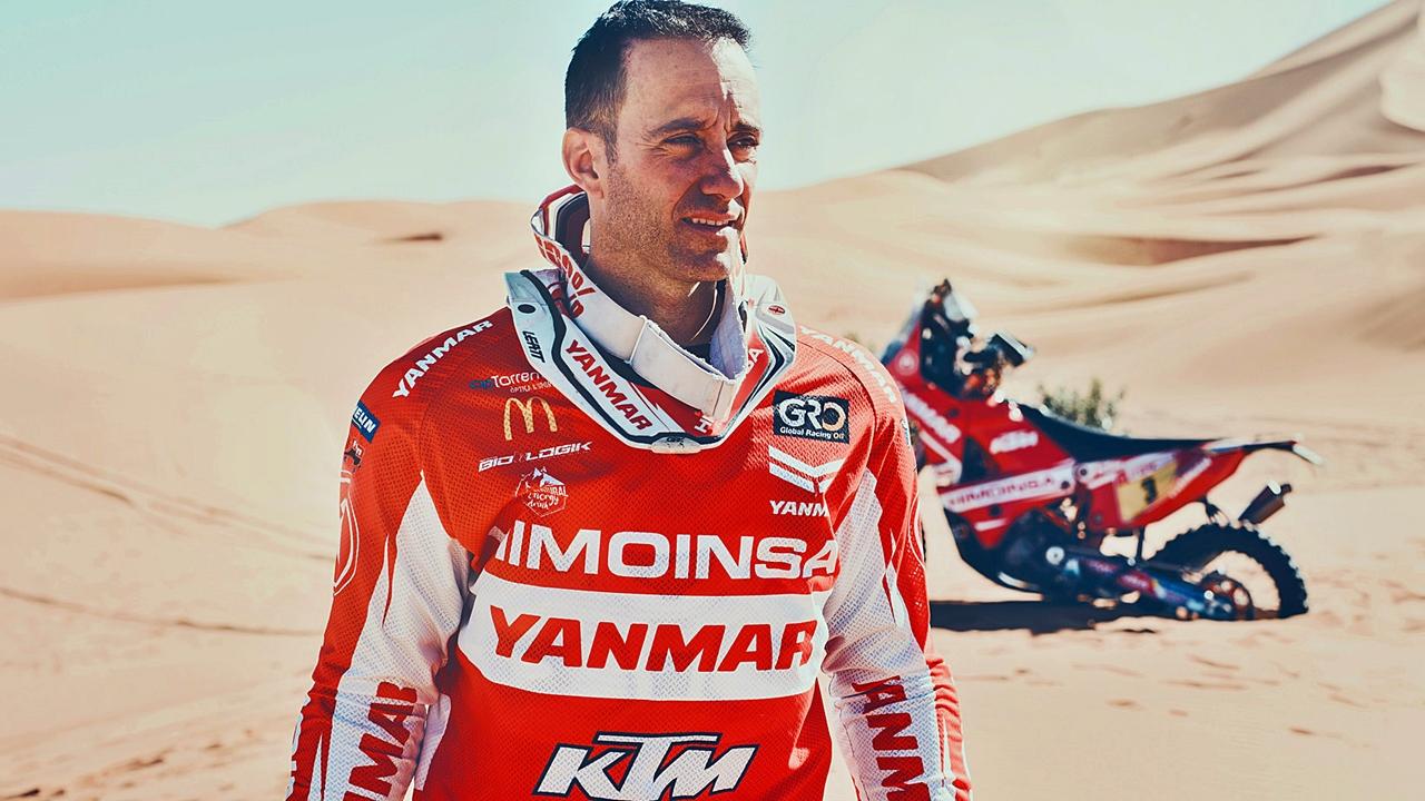 Gerard Farrés anuncia su retirada de la moto tras el Dakar 2018
