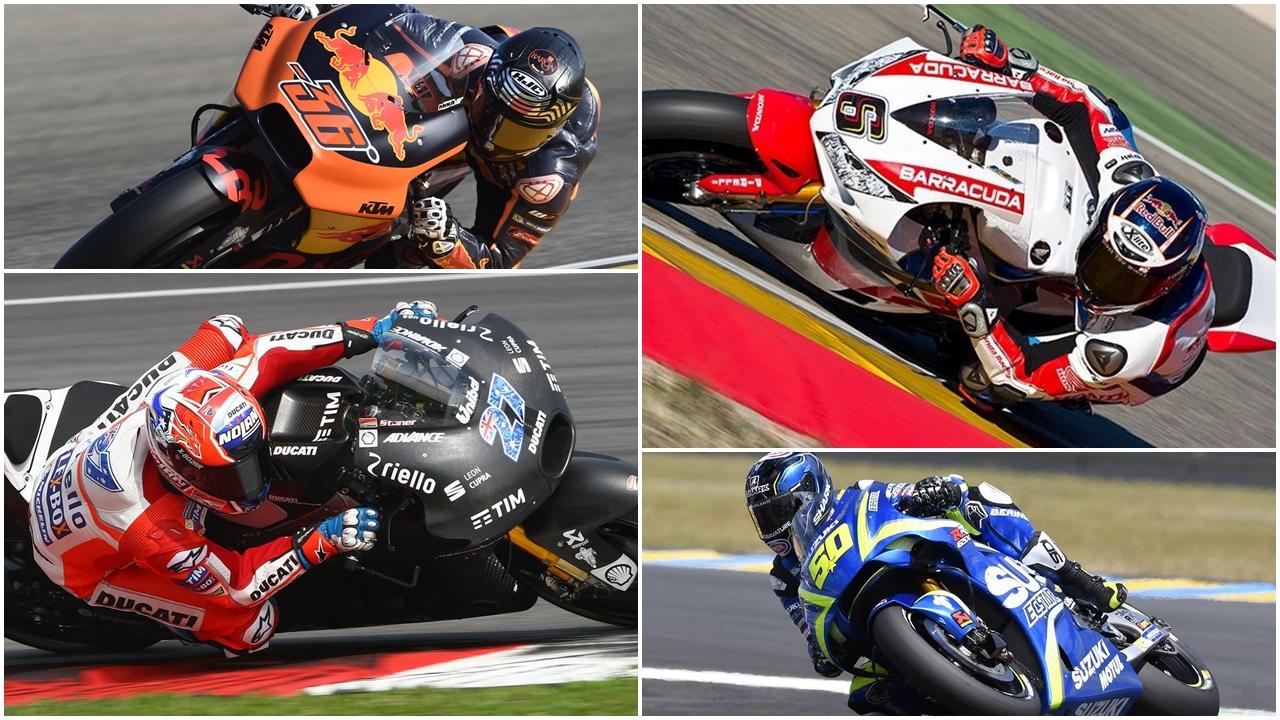 La era dorada de los probadores de MotoGP