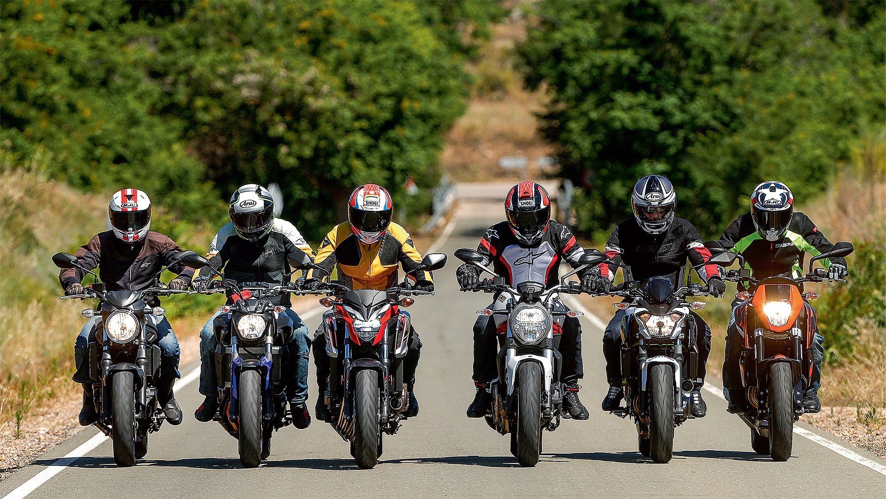 Comparativa Naked: MT07 vs Monster 797 vs SV650 vs Z650 vs CB650F vs 690 Duke