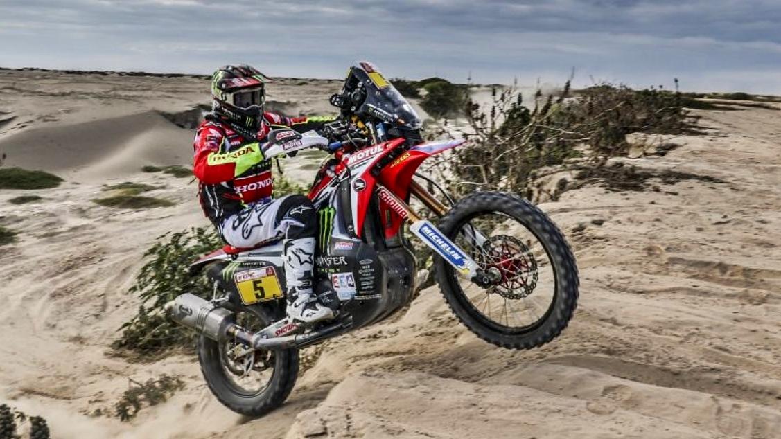 Dakar 2018: Joan Barreda vuela en la etapa 5 y pone el Dakar patas arriba