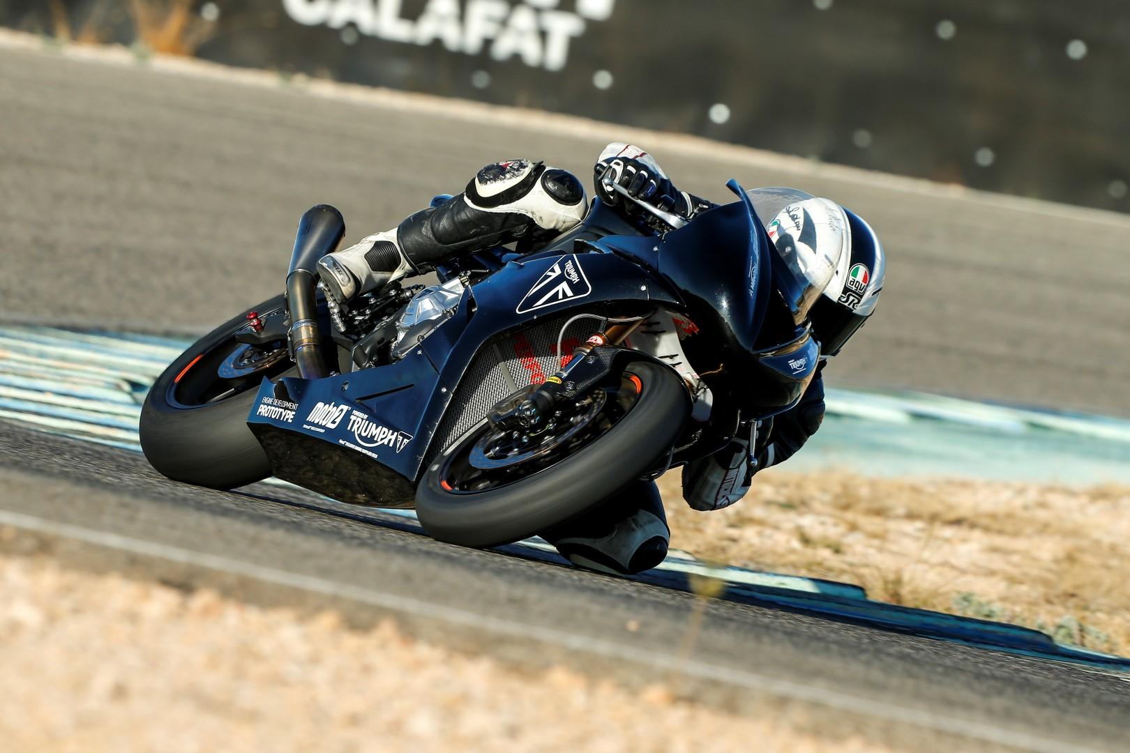 Triumph Moto2: Prueba exclusiva