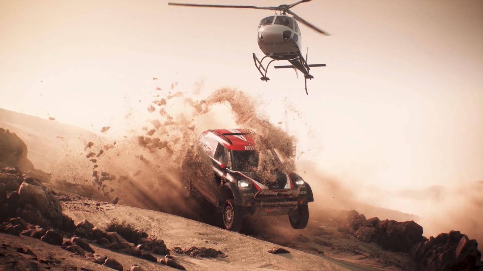Dakar 18, primeras imágenes del videojuego del Rally Dakar