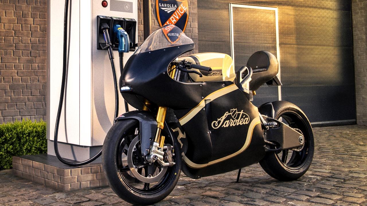 La eléctrica Sarolea Manx7 correrá las 24 horas de Le Mans