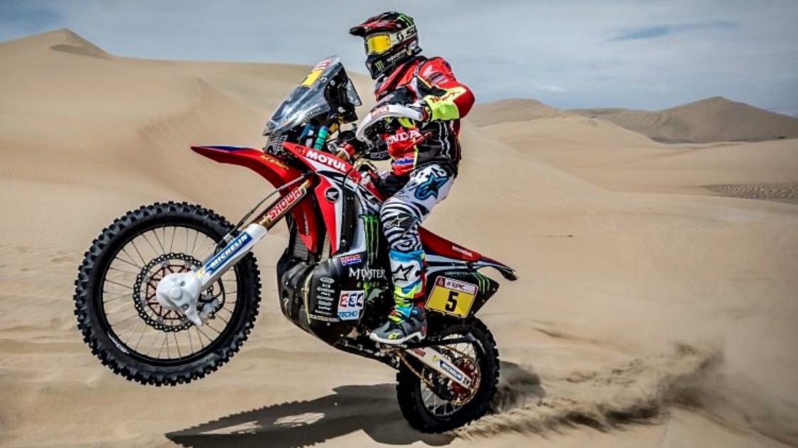 Joan Barreda merece ganar el Dakar