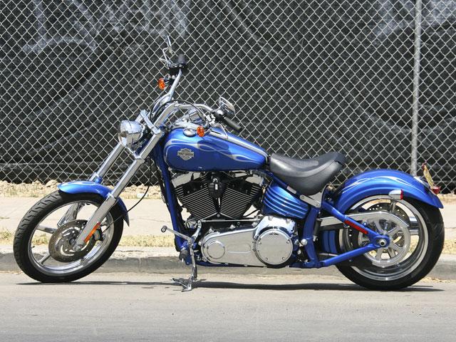 La nueva Harley-Davidson Rocker C agotada en 2008
