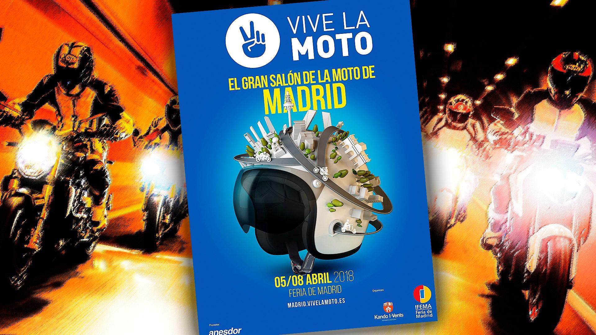 Prueba las novedades 2018 en el Salón Vive La Moto