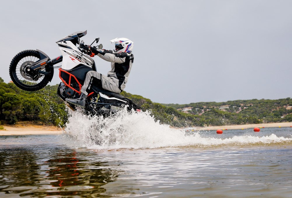 KTM 1090 Adventure R: podeRosa Trail