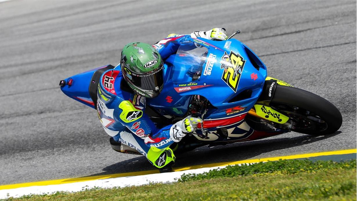 Toni Elías y Michael Dunlop probarán la Suzuki de MotoGP en Sepang