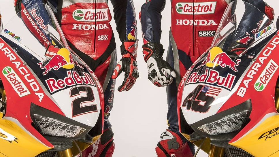 Red Bull Honda enseña las Fireblade de Leon Camier y Jake Gagne para WSBK 2018