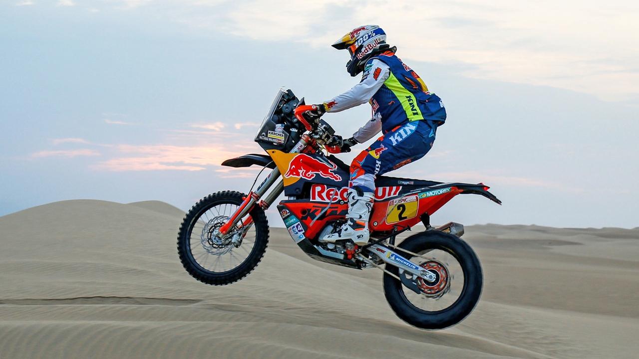 Matthias Walkner, el sueño dorado de KTM