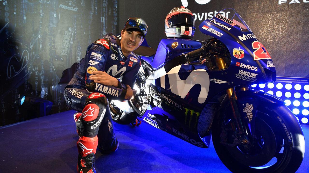 """Maverick Viñales: """"Espero que Rossi también renueve con Yamaha"""""""