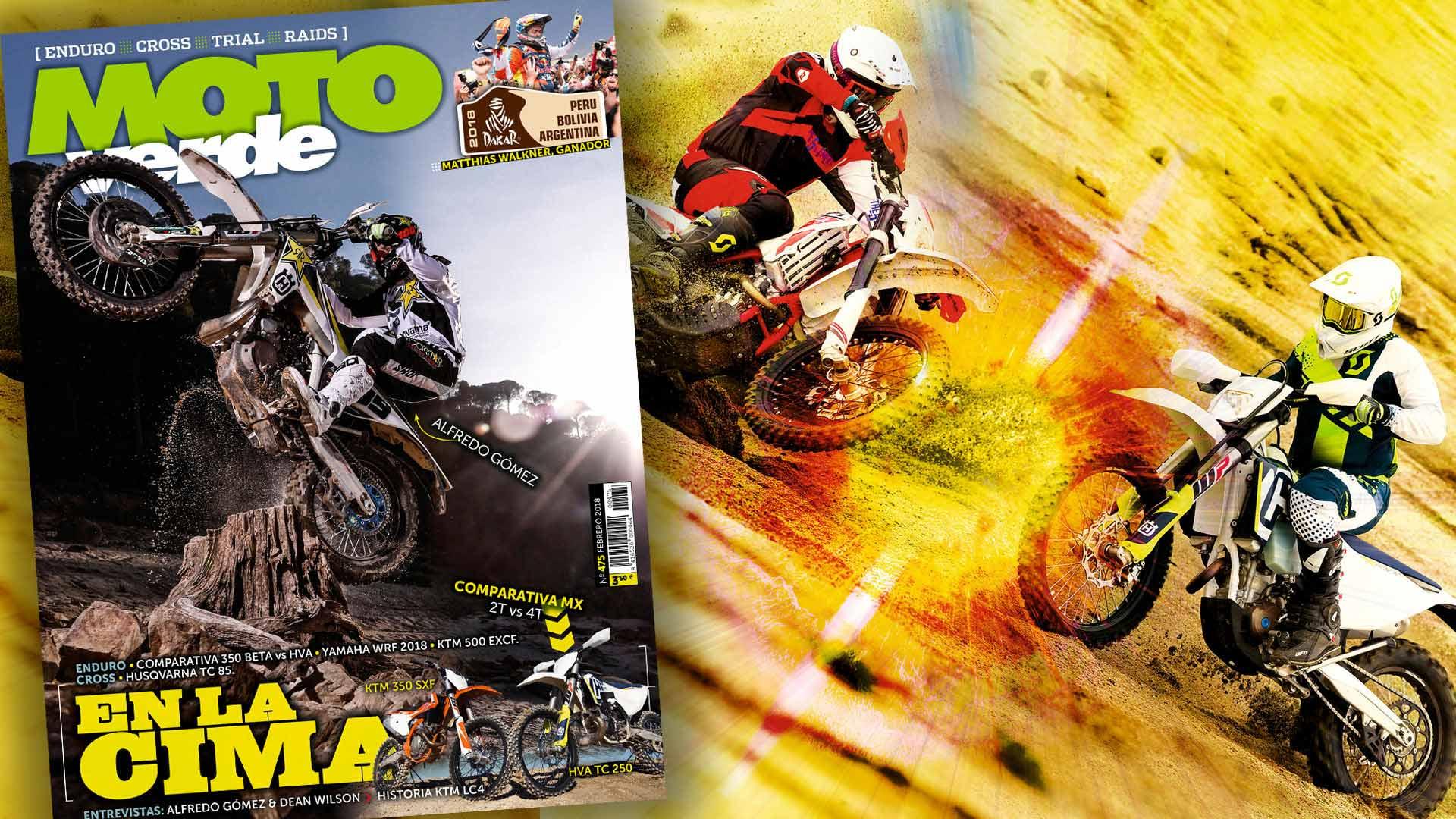 MOTO VERDE 475, contenidos y sumario de la revista