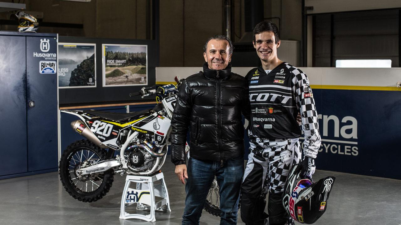 Ander Valentin y el 920 FlyGroupteam, listos para MXGP 2018