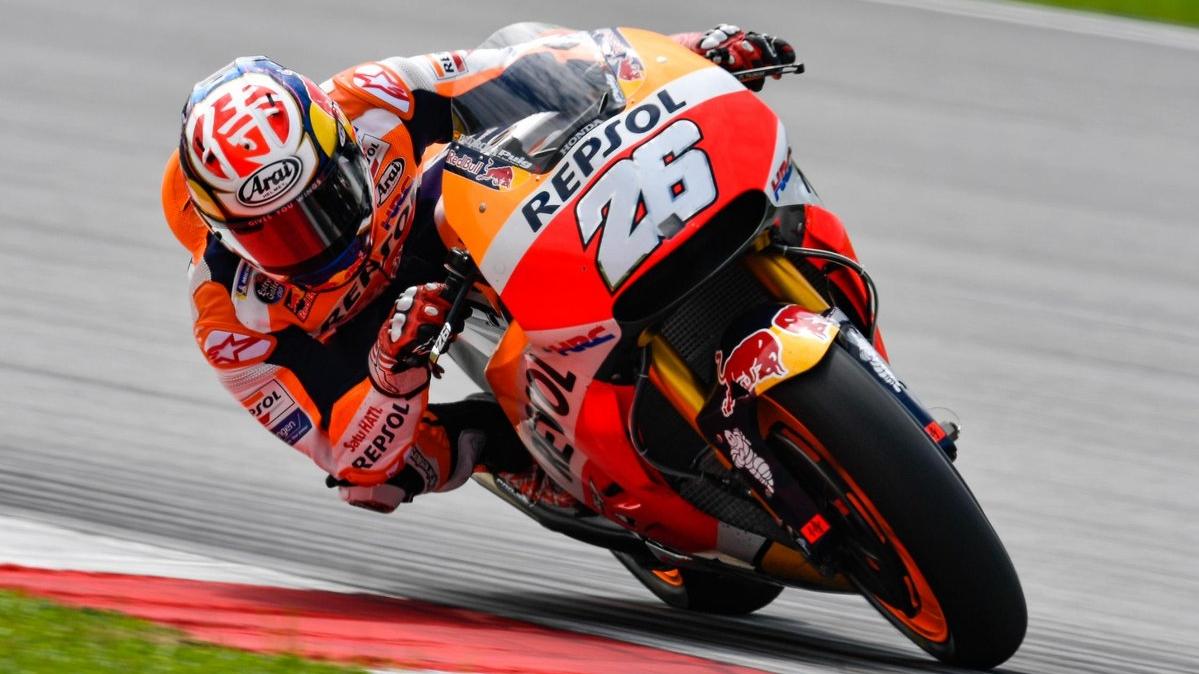 MotoGP 2018: Dani Pedrosa domina a las Ducati en el primer test del año en Sepang
