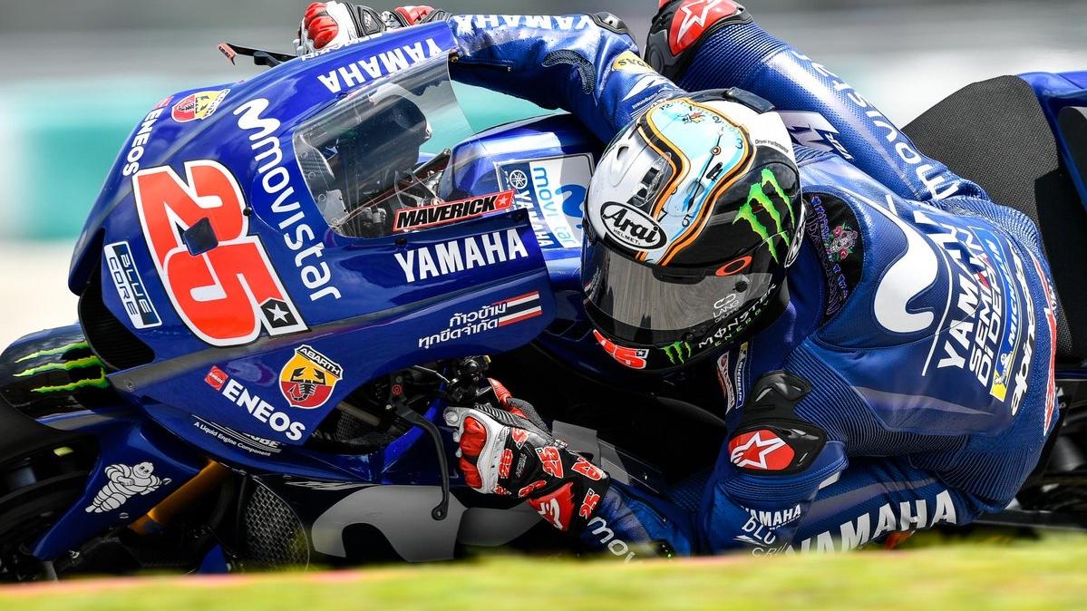 MotoGP 2018: Maverick Viñales y Valentino Rossi llevan a Yamaha a lo alto en Sepang
