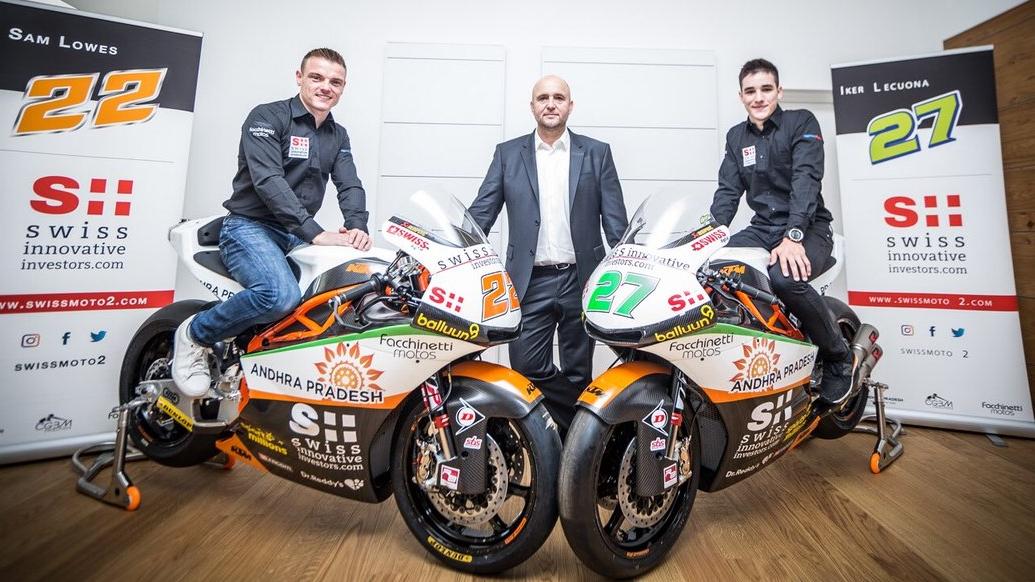 Sam Lowes e Iker Lecuona presentan sus KTM para conquistar Moto2 2018
