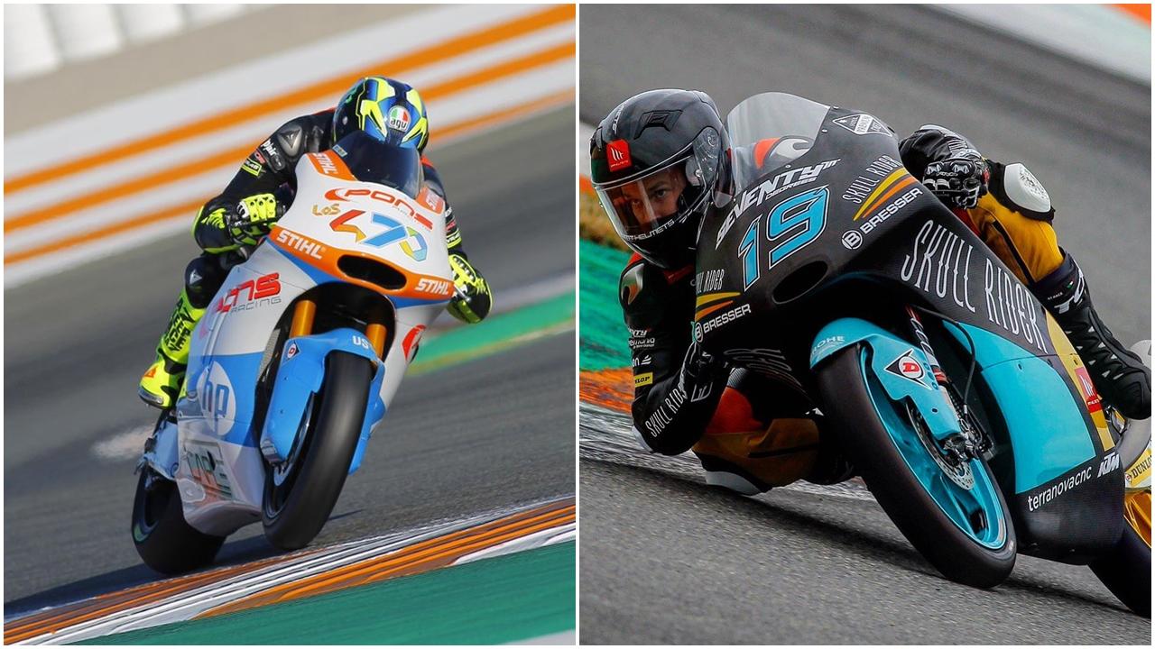 Lorenzo Baldassarri y Gabri Rodrigo dominan el primer día productivo en Valencia