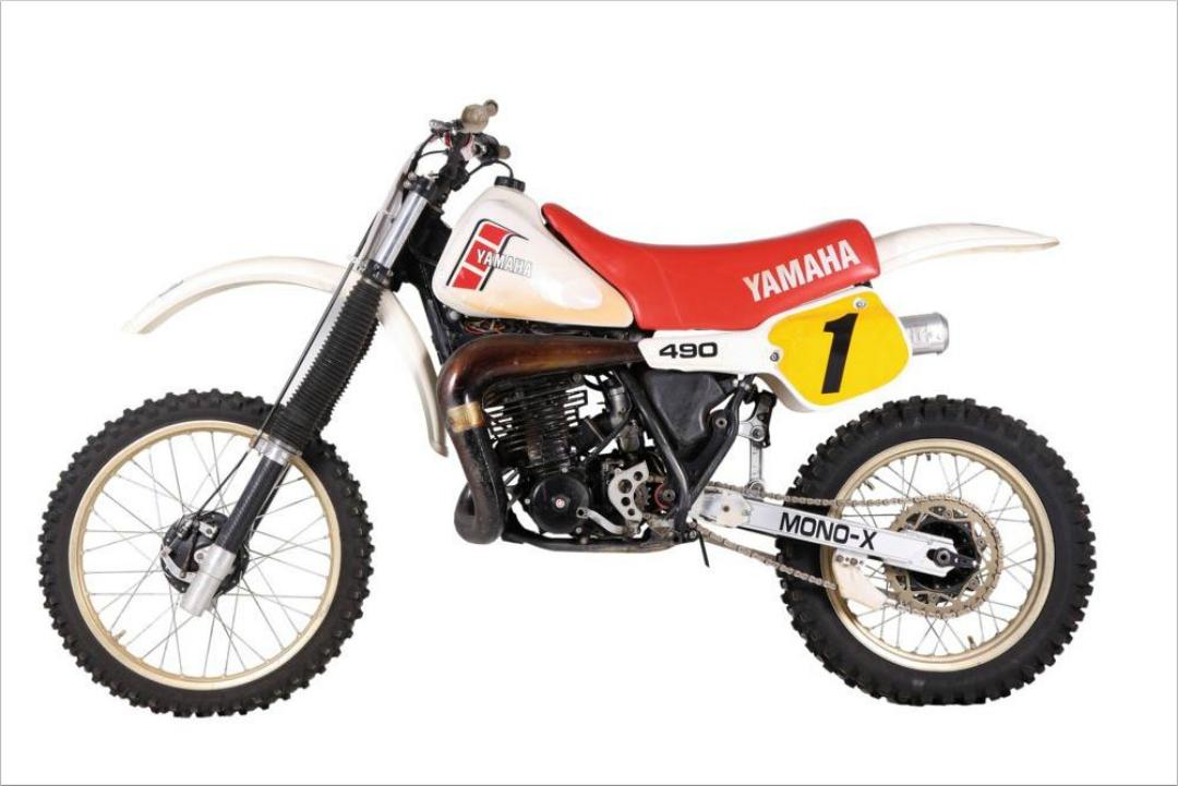 Clásicas Cross: Yamaha YZ 490 Fernando Muñoz, 1982