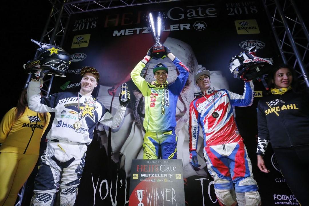 Mario Román vencedor de la Hell´s Gate