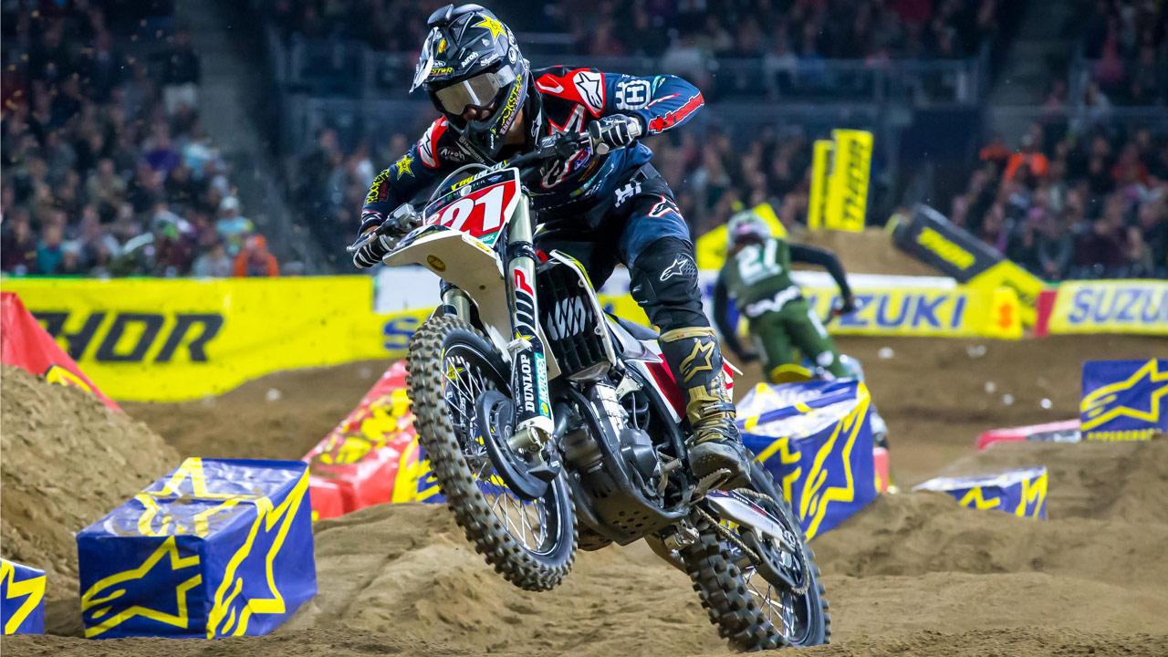 SX USA San Diego 2018, Jason Anderson se escapa en el liderato