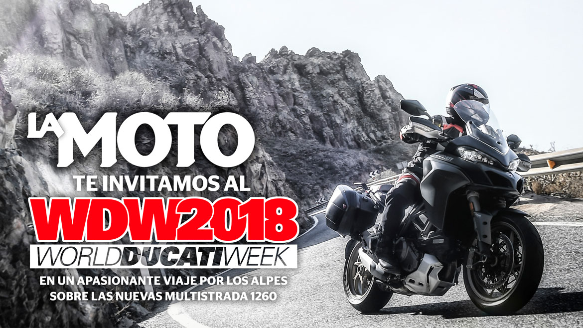 LA MOTO te invita al World Ducati Week 2018