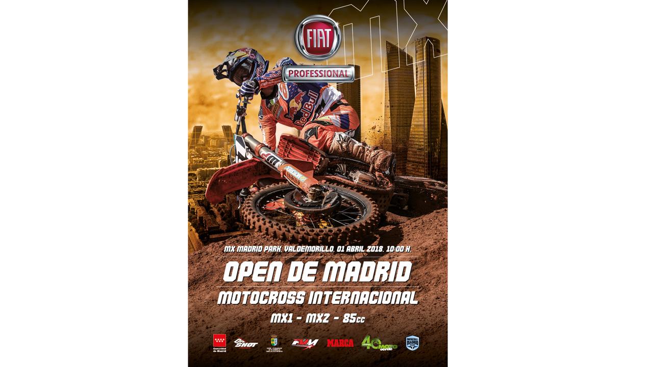 El Open de Madrid de Motocross 2018 ya tiene fecha