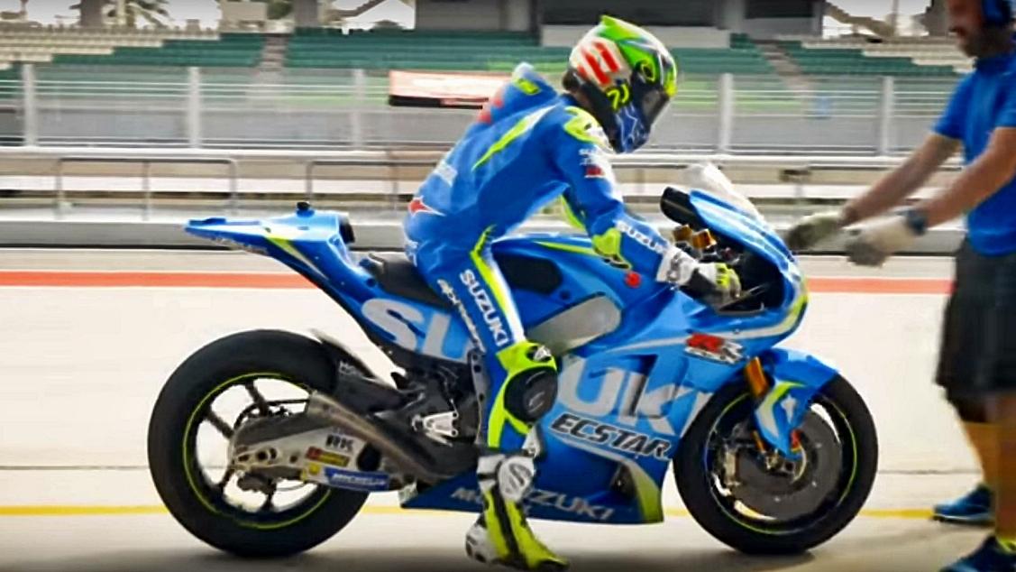 """Toni Elías prueba la Suzuki MotoGP: """"Espero repetirlo en un futuro próximo"""""""