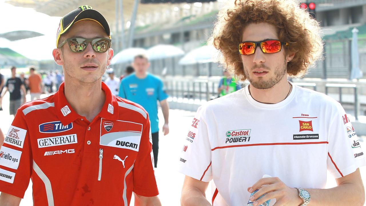 Valentino Rossi se sincera sobre la muerte de Marco Simoncelli