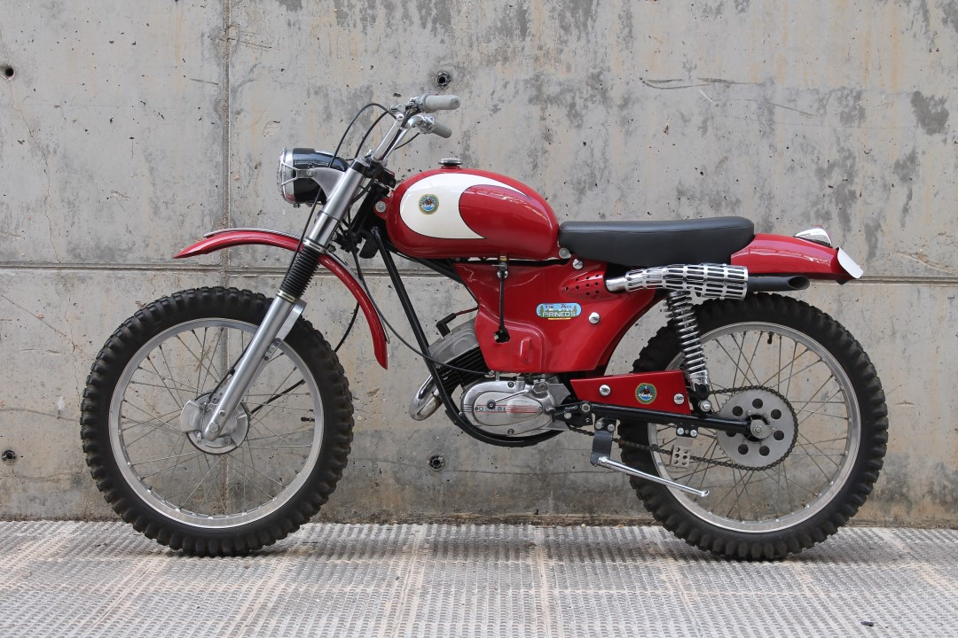 Clásicas Trial: Derbi 74 Trial Pirineos, 1966