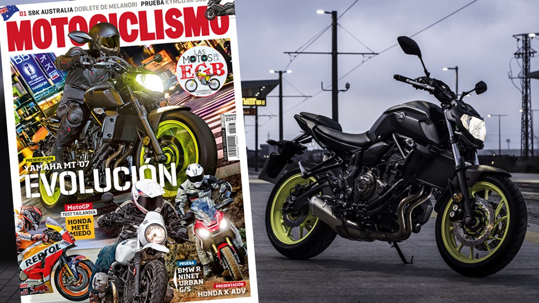 La moto más vendida en 2017, renovada y protagonista del último número de MOTOCICLISMO