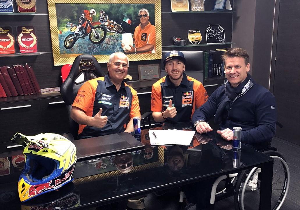Tony Cairoli renueva con KTM hasta 2020