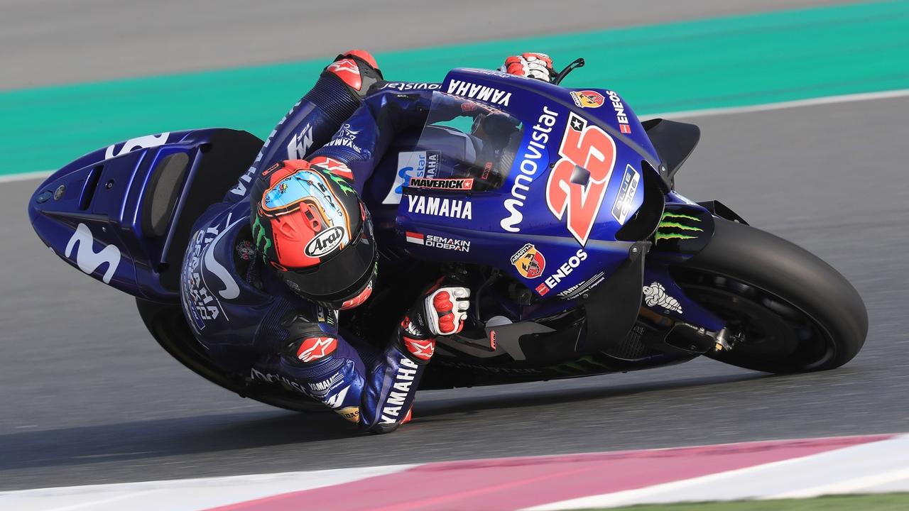 MotoGP 2018: Maverick Viñales devuelve a Yamaha a lo alto en el test de Qatar
