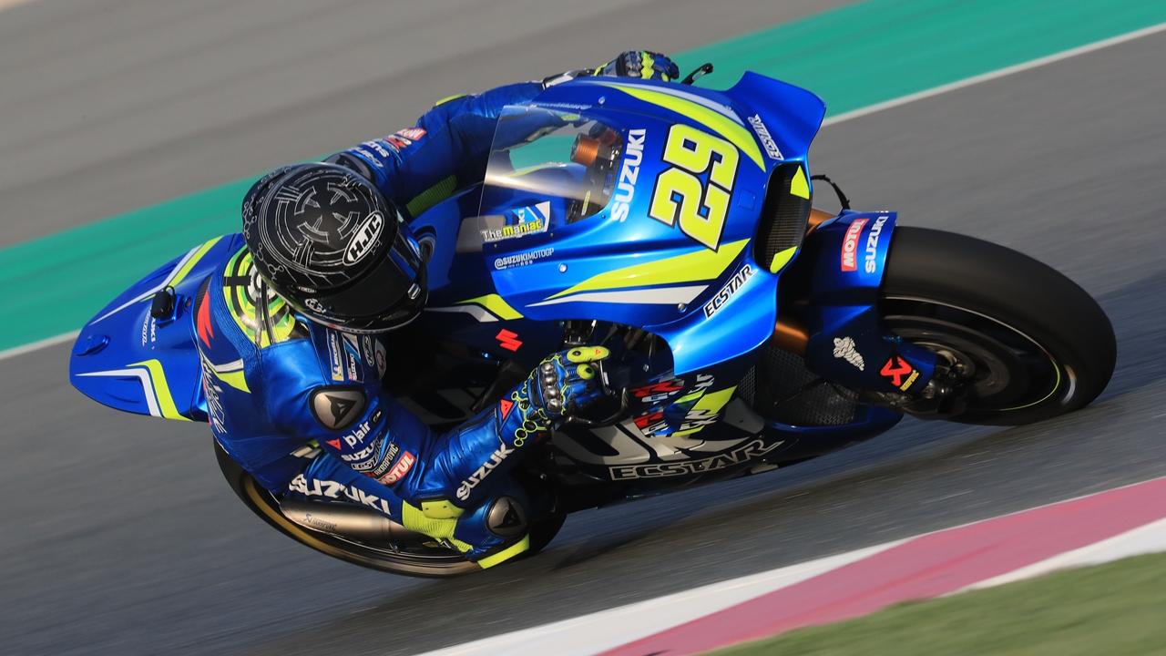 MotoGP 2018: Andrea Iannone manda en Qatar ante Andrea Dovizioso y Marc Márquez