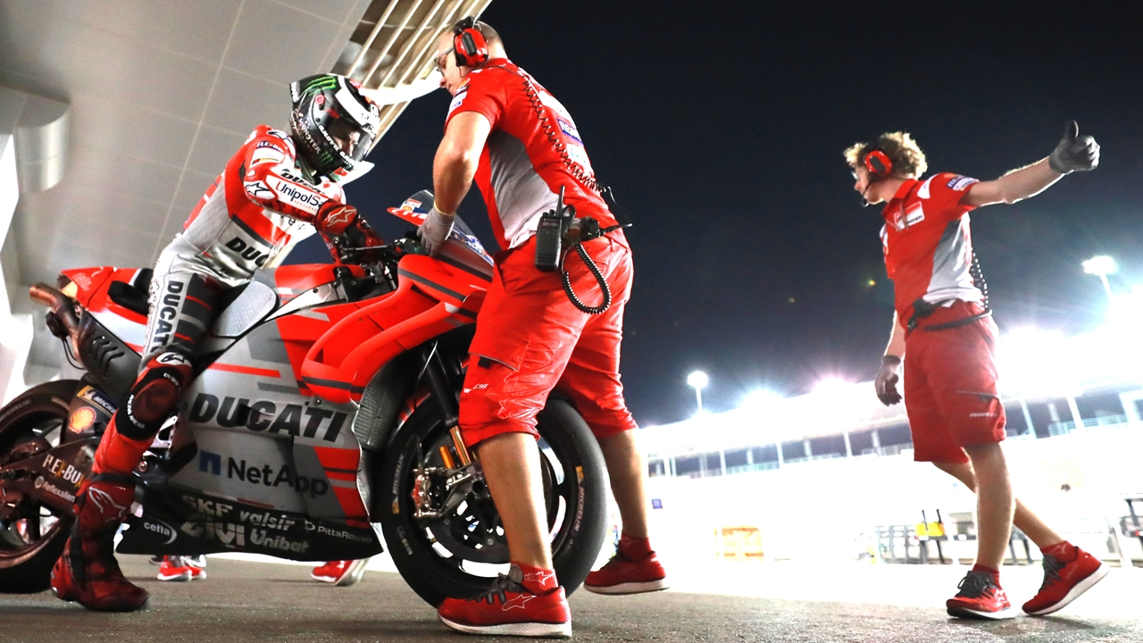 """Jorge Lorenzo: """"Nos queda mucho trabajo para sacar el máximo potencial a la moto"""""""