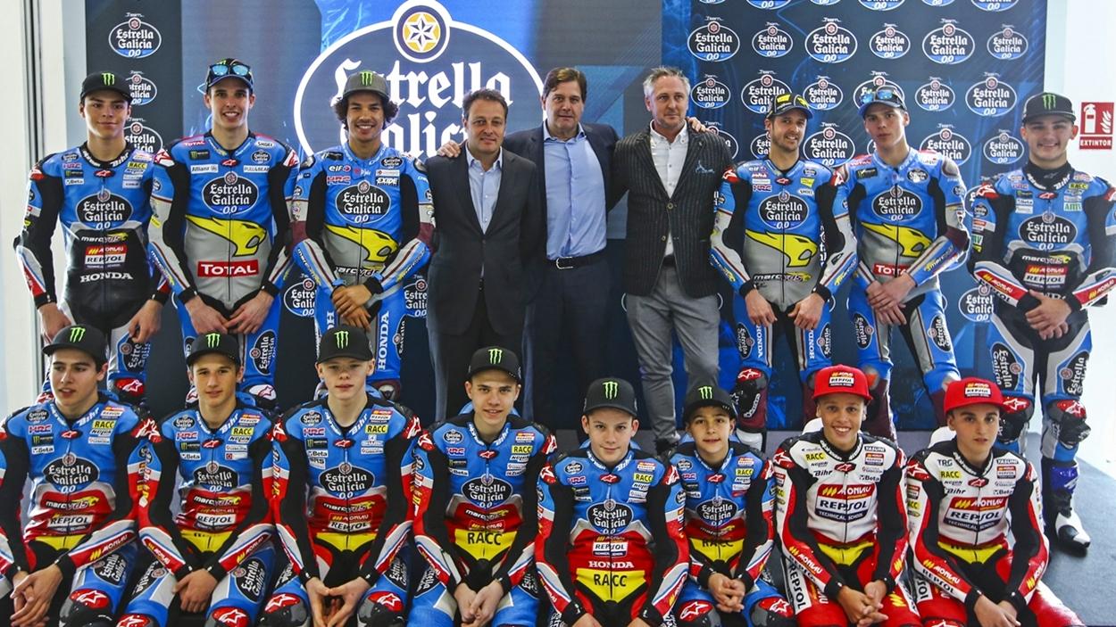 El Estrella Galicia 0,0 presenta sus seis equipos para la temporada 2018