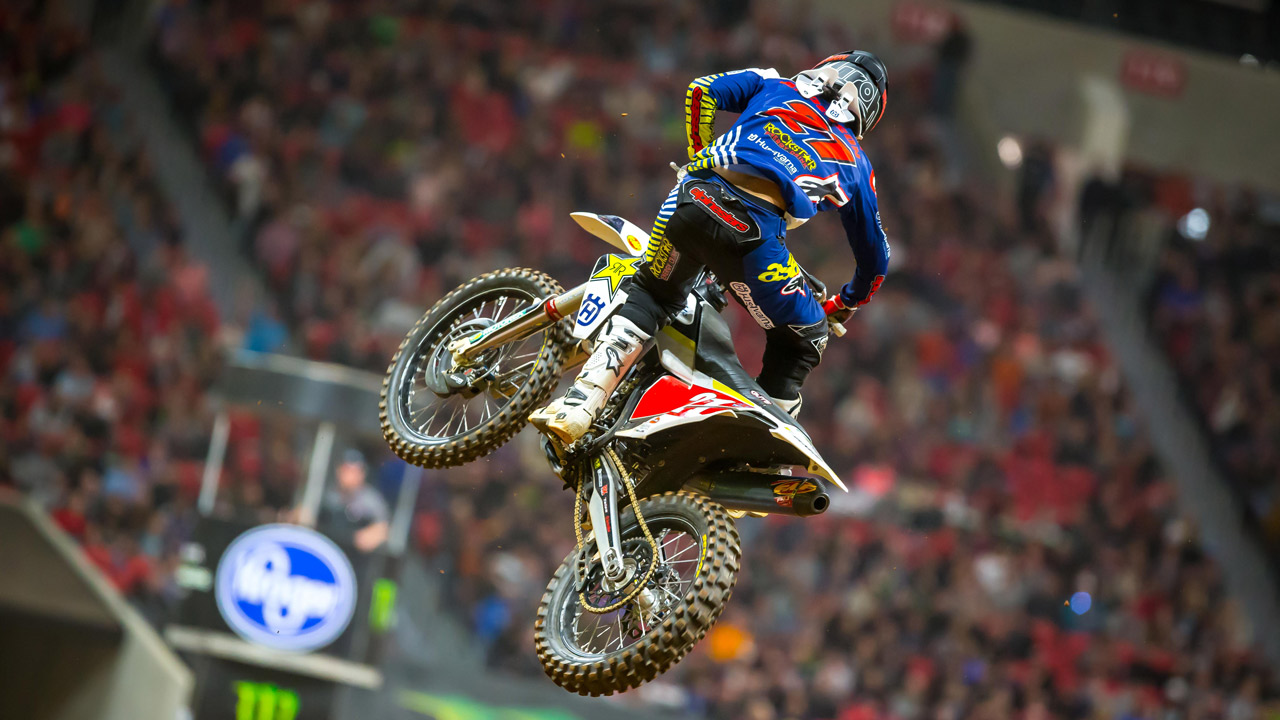 Jason Anderson se impone en el Supercross «Triple Crown» de Atlanta